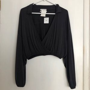 NWT Urban Outfitters Cropped Blouse